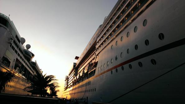 Pacific cruises-the liner