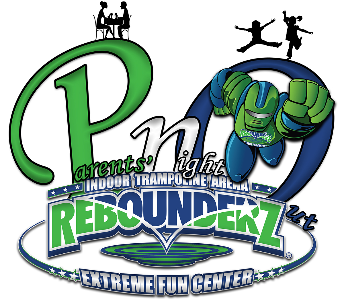 Rebounderz Date Night Ideas Rohnert Park Indoor