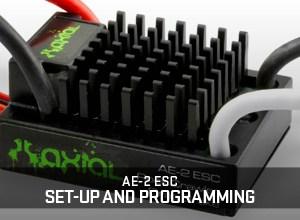 Programmare l'ESC Axial AE-2 - Pareri e Pensieri