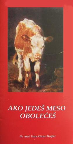Čitajte knjigu - Ako jedeš meso obolećeš