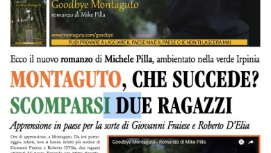 Photo of Goodbye Montaguto: il giornale-romanzo di Michele Pilla