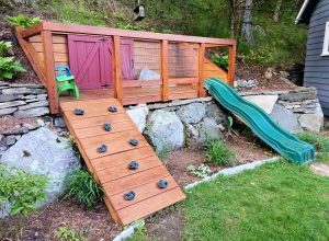 Photo of Coolest Backyard Design for Your Home with Playground