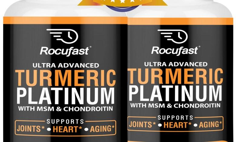 2-Pack Turmeric Curcumin with BioPerine