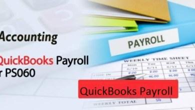 Photo of Fix Fix QuickBooks Payroll Error PS060