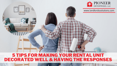 Photo of 5 tips for making your rental unit decorated well & having the responses