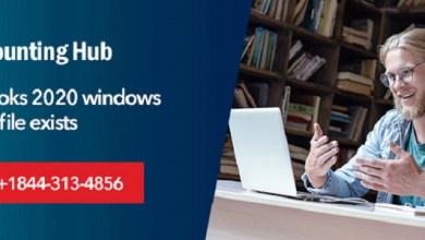 Photo of QuickBooks 2020 windows Error the file Exists?