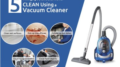 Photo of 5 surprising uses for your vacuum cleaner