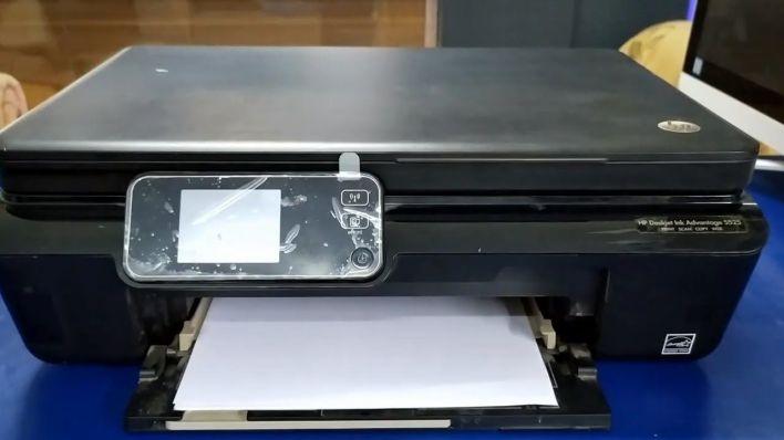 HP Printer Not Printing Black Ink