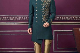 Photo of Purchase Indo Western Style Exclusive Designer Dress Collection Online for groom