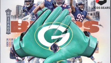 Photo of Green Bay Packers Football Gloves