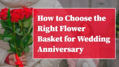 Photo of How to Choose the Right Flower Basket for Wedding Anniversary