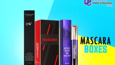 Photo of Mascara Boxes for Elite Showcase at Cosmetic Stores