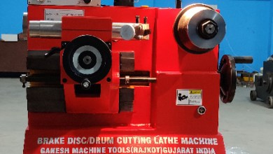 Photo of Lathe Machine