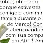 Oração por Abril