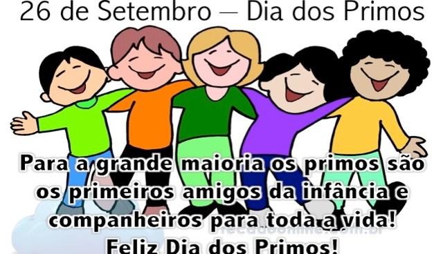 26/09 – Dia dos Primos