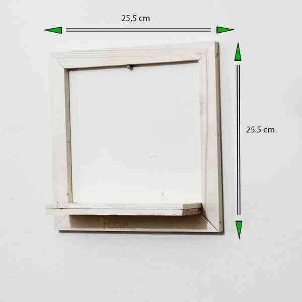 Wood frame Planter