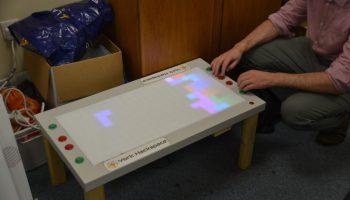 Tetris on a Raspberry Pi using the PiLite – Raspberry Pi Pod