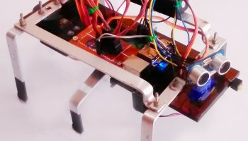 Ultrasonic sensors and FluidSynth used together to create a
