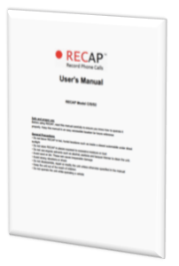 recap-user-manual