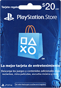 pin electronico playstation store