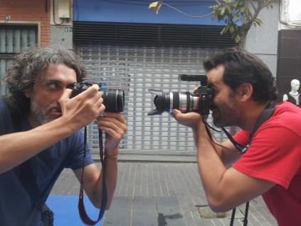Duelo de fotógrafos