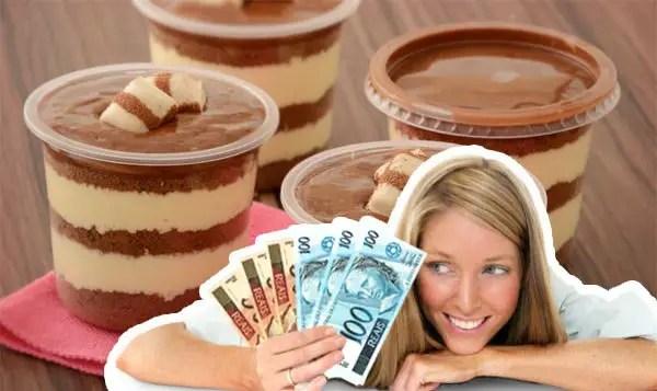 Vender bolos de pote dá dinheiro!