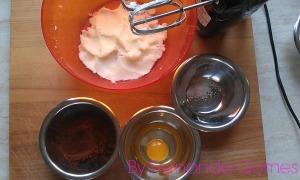 Muffin recheado de nutella5