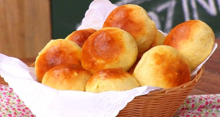 Pão de leite fofinho com 3 ingredientes bem fácil faça ai