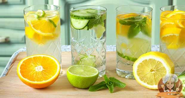 Criando sua própria água aromatizada