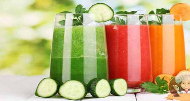 Receita de Suco detox para emagrecer - Salada de Soja com Gengibre e Cenoura