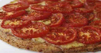 Receita de Pizza Integral de Tomate - Receita de Pizza Integral de Tomate