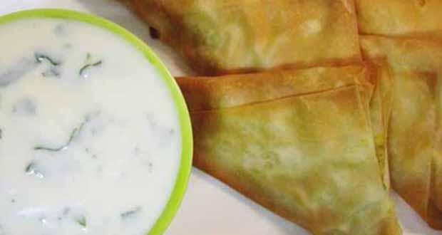 Chamuça Indiana ao Forno - Saborosa Receita de Salada Nutritiva