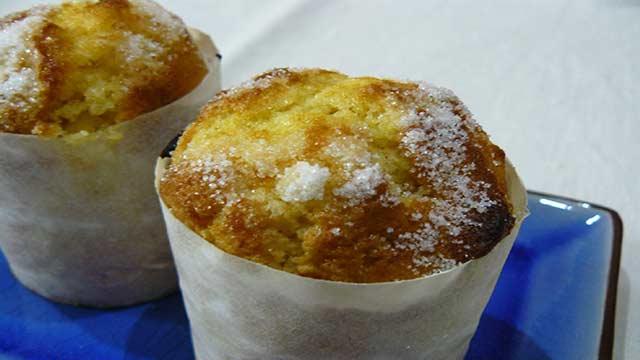 Bolo de Farinha de Arroz - Cupcake de Limão e Chocolate