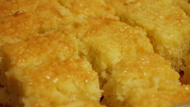 Bolo Cremoso com Cremogema - Torta de Coco dos Anjos