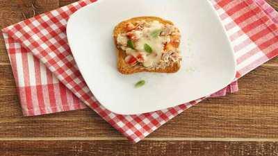 Como fazer Minipizza Light de Atum - Como fazer Minipizza Light de Atum
