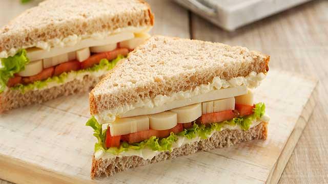 Sanduíche Delícia de Verão