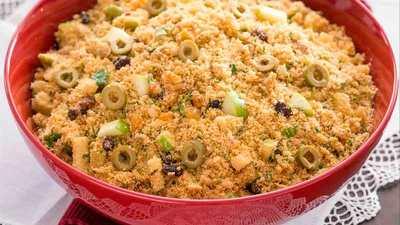 Deliciosa Farofa Para Festas de Fim de Ano