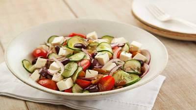 Dia Mundial do Queijo - Salada Grega
