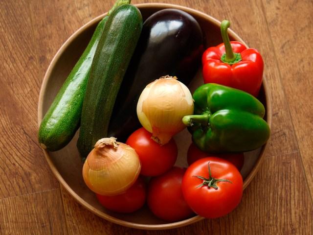 Como escolher vegetais