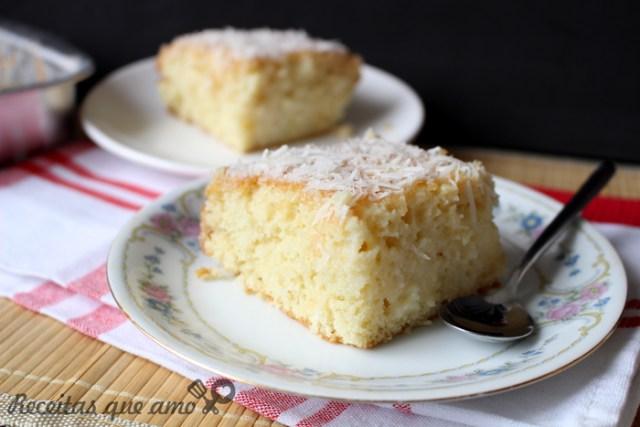 O melhor bolo gelado de coco