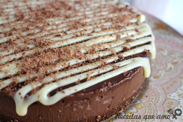 Cheesecake de Nutella sem forno