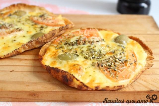 Pizza pão de alho