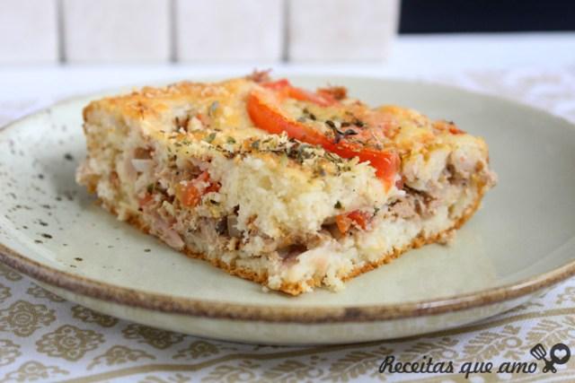 Torta de atum com a massa mais gostosa