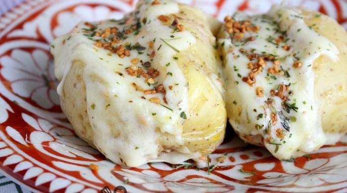 Baked potato no microondas