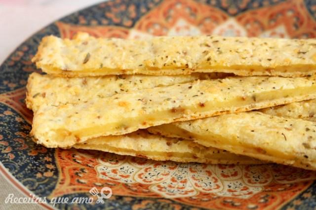 Stick de alho com tapioca sem glúten