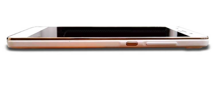 Huawei G Play Mini - laterale tasti standby e volume