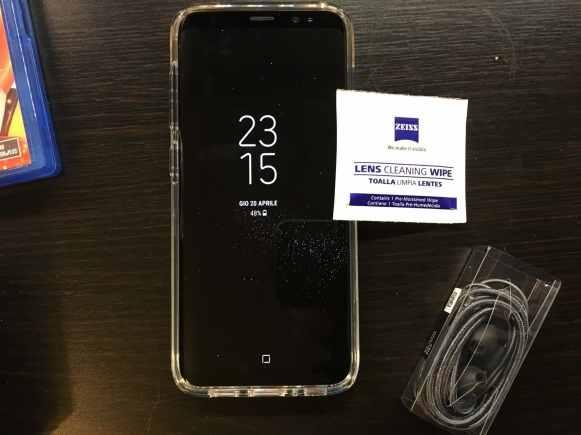 Recensione Cover Galaxy S8, SPIGEN Custodia [Liquid Crystal]