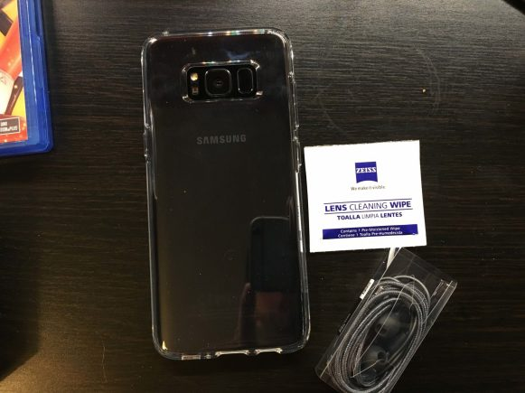 Recensione Cover Galaxy S8, SPIGEN Custodia [Liquid Crystal]