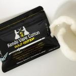 Recensione cotone Kendo Vape Cotton Gold