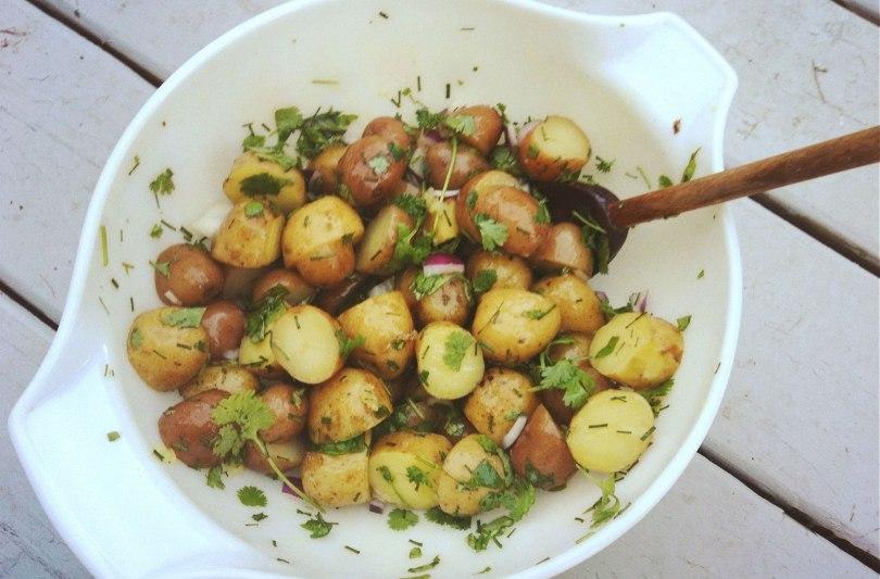 krieltjessalade-recept